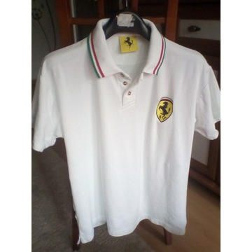 T-shirt polo męski Ferrari