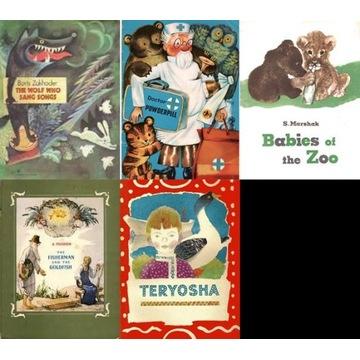 Pakiet 5 książeczek w języku ang dla dzieci
