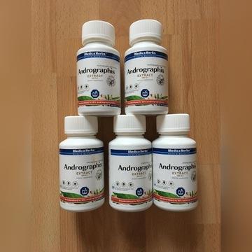 5 opakowań po 120 kap. Andrographis Medica Herbs