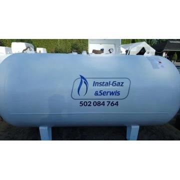 Zbiornik na gaz 2700l Naziemny