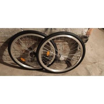 Dwie nowe koła rowerowe indiana trekking 28 cal