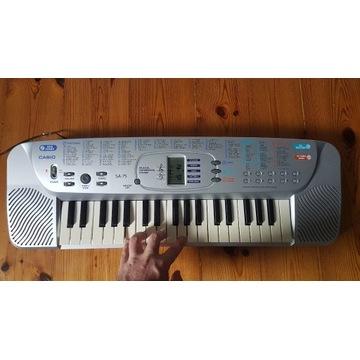 Keyboard CASIO SA-75   Do nauki