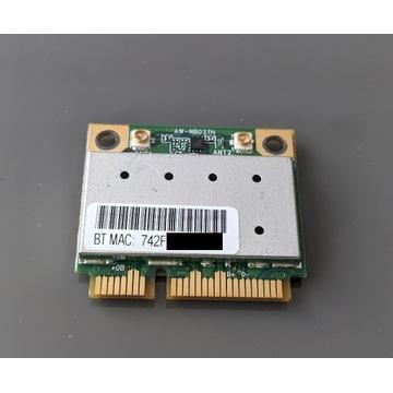 Karta WiFi Bluetooth 3.0 AW-NB037H Atheros AR5B195