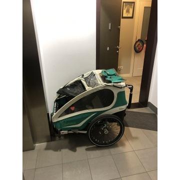 KidGoo2 2Wózek przyczepka rowerowa Qeridoo2