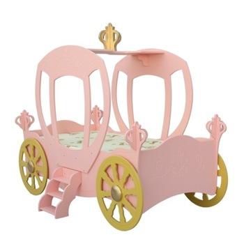 Okazja! Łóżko dla dziewczynki Karoca różowa