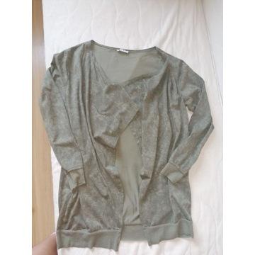 Bluza narzutka  Unisono, 44/46. L Khaki