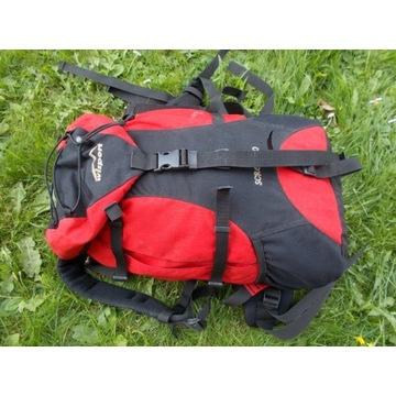 Plecak turystyczny Plecak Wisport Scroll 30 czerwo