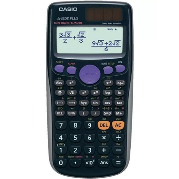 Kalkulator naukowy Casio fx-85DE plus