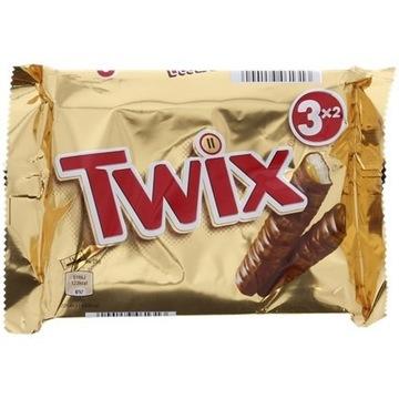 Twix Opakowanie 3 sztuki   150 gramów