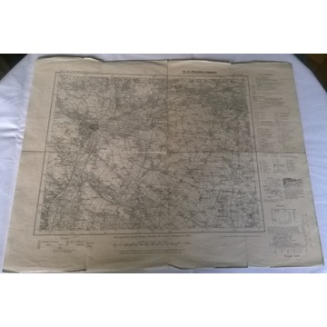 Posen [Poznań] Karte des Deutchen Reiches 1891