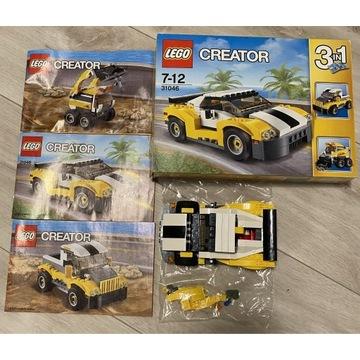 Klocki Lego 31046 Creator Samochód wyścigowy 3w1