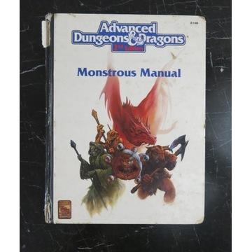 Adv. AD&D Monstrous Manual 1993 TSR 2140 angielski