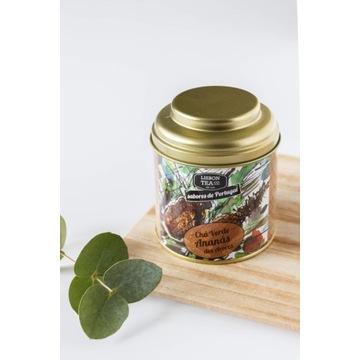 LISBON TEA herbata zielona z ananasem z Azorów