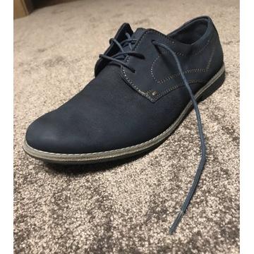 Lasocki young niebieskie buty, eu 38