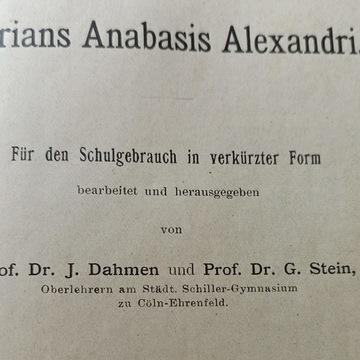 Arrians anabasis Alexandri 1911