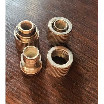 Złączki chłodzenia wodnego 3 sztuki 1/4 10 mm