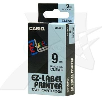 Oryginalna taśma CASIO XR -9X1 9mm x 8m
