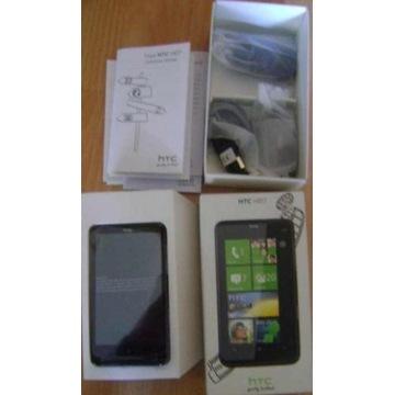 HTC HD7 , komplet jeszcze w foliach