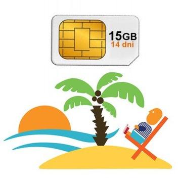 Internet na wakacje w UE 15 GB Roaming