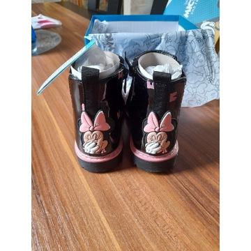 Botki dla dziewczynki Myszka Minnie