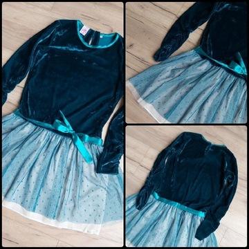 Elegancka sukienka rozm. 146