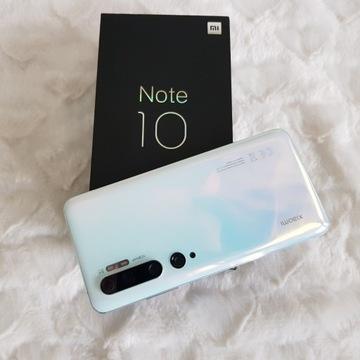 Xiaomi Mi Note 10  6/128GB Piękny Biały  JAK NOWY!