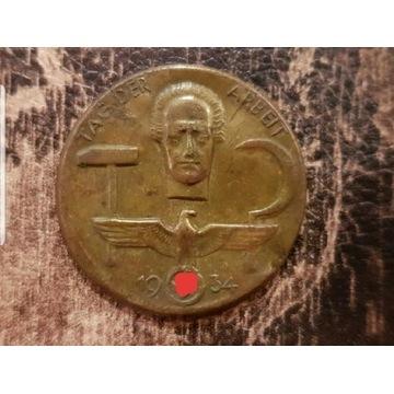 Odznaka TAG DER ARBEIT 1934TAG DER ARBEIT 1934