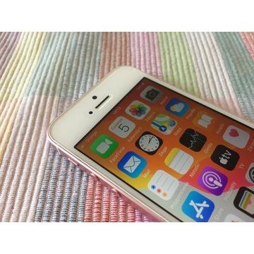 + OKAZJA JAK NOWY iPhone SE 16GB Rose Gold ++
