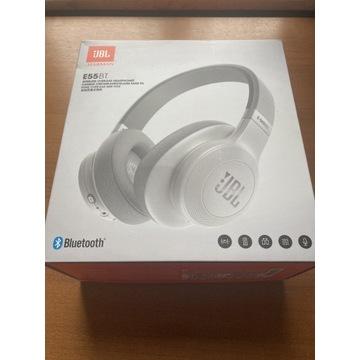 Słuchawki nauszne bezprzewodowe JBL E55BT White