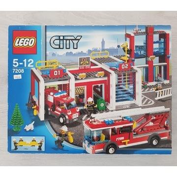 LEGO CITY 7208 Remiza Stażacka