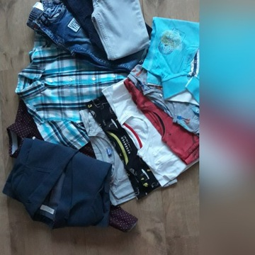 Mega paka ubrania chłopięce rozm.122/128