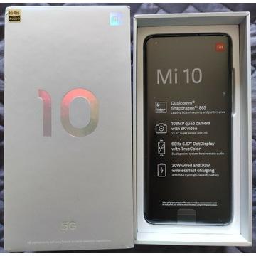 Xiaomi Mi 10 8/128 5G Szary, nowy, gwarancja - Pń