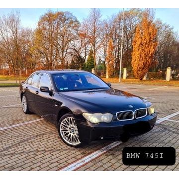 BMW 7/ 745I 4,4 BENZYNA