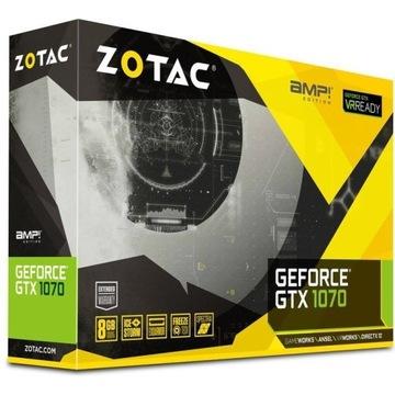 Karta graficzna Zotac GeForce GTX1070 AMP Edition