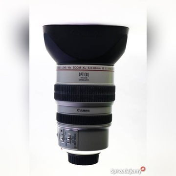 Obiektyw CANON VIDEO LENS 16X ZOOM XL 5.5-88mm