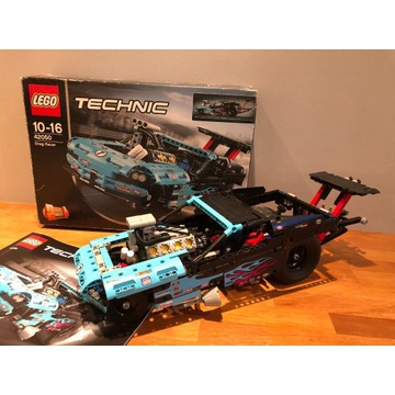 Lego Technic 42050 DRAGSTER super stan IDEAŁ
