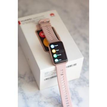 Huawei watch fit active różowe złoto