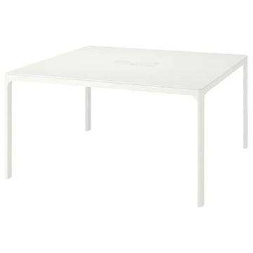 BEKANT Stół konferencyjny, biały 140x140cm