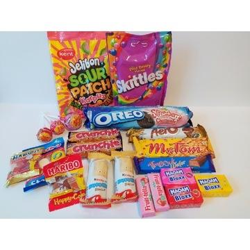 Mega zestaw słodyczy na prezent!
