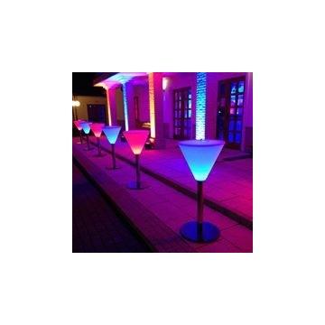 Stolik koktajlowy LED ( szampanówka) bezprzewodowy
