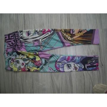 Legginsy Monster High 7-8 lat ok 134