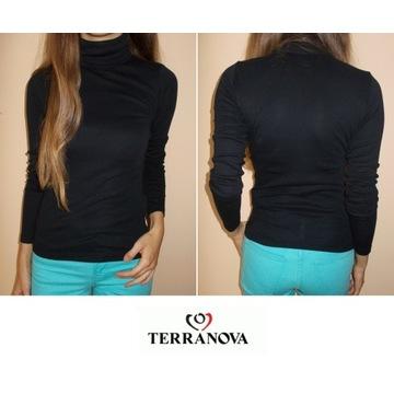 czarny golf na długi rękaw Terranova KOE 34 xs swe