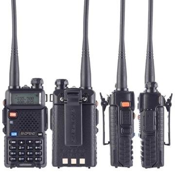 Radiotelefon BAOFENG UV-5R-8W 1800mAh