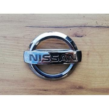 Emblemat, znaczek Nissan