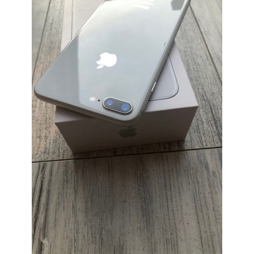 iPhone 8 Plus Silver 64GB CAŁY Zadbany! BCM!