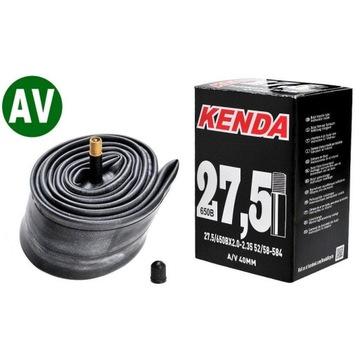 """Dętka Kenda 27,5"""" x 2,0-2,35 AV 40mm molded box"""