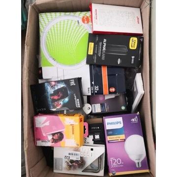 Pakiet paczka elektroniki różności mix zestaw paka