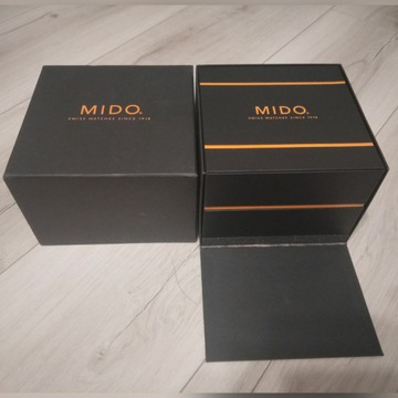 Etui pudełk po zegarku Mido