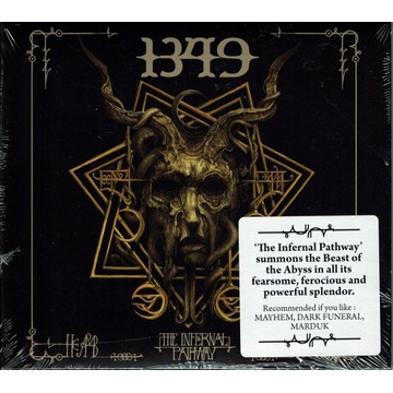 1349 The Infernal Pathway DIGIPACK