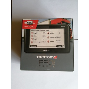 Nawigacja TomTom Pro 5150 Truck Live Europa